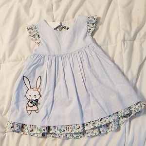 Adorable Easter/Spring  NWT 6-12m Dress